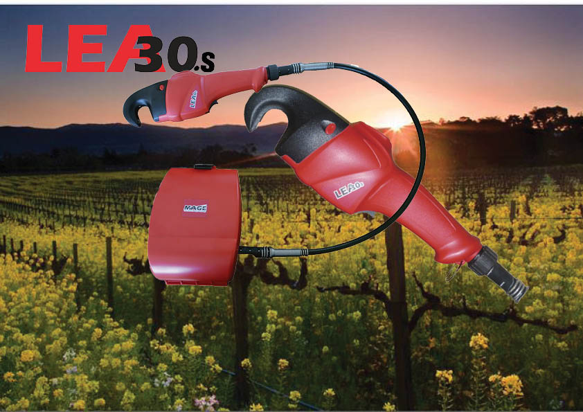Vineyard LEA30s electric tying tool brochure pic