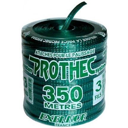 Vineyard Prothec tie 3 wire green s