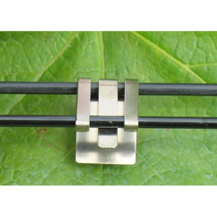 "Foliage Wire Clips - Stainless Steel ""Clipi"""