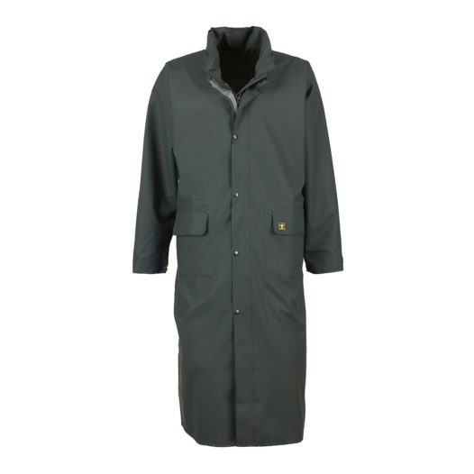 Guy Cotten Green Long waterproof long jacket for sale