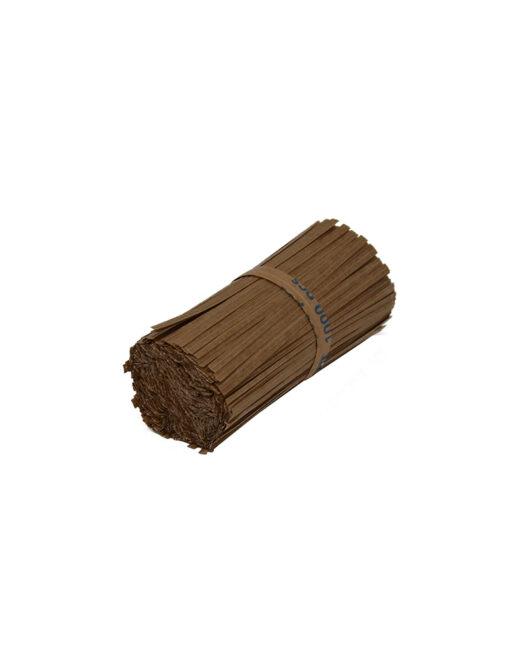 Paper (2K) Twist Tie - 100mm - Kraft