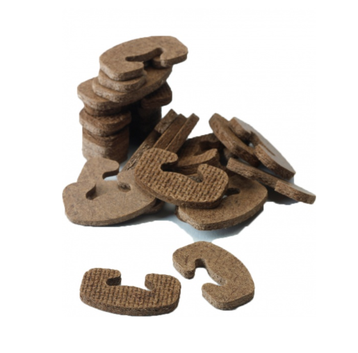 Hardboard C Clips / Foliage Grafes Bois (Bag of 2500)